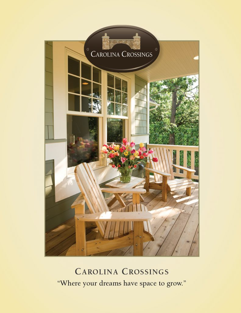 Carolina Crossings Brochure, front