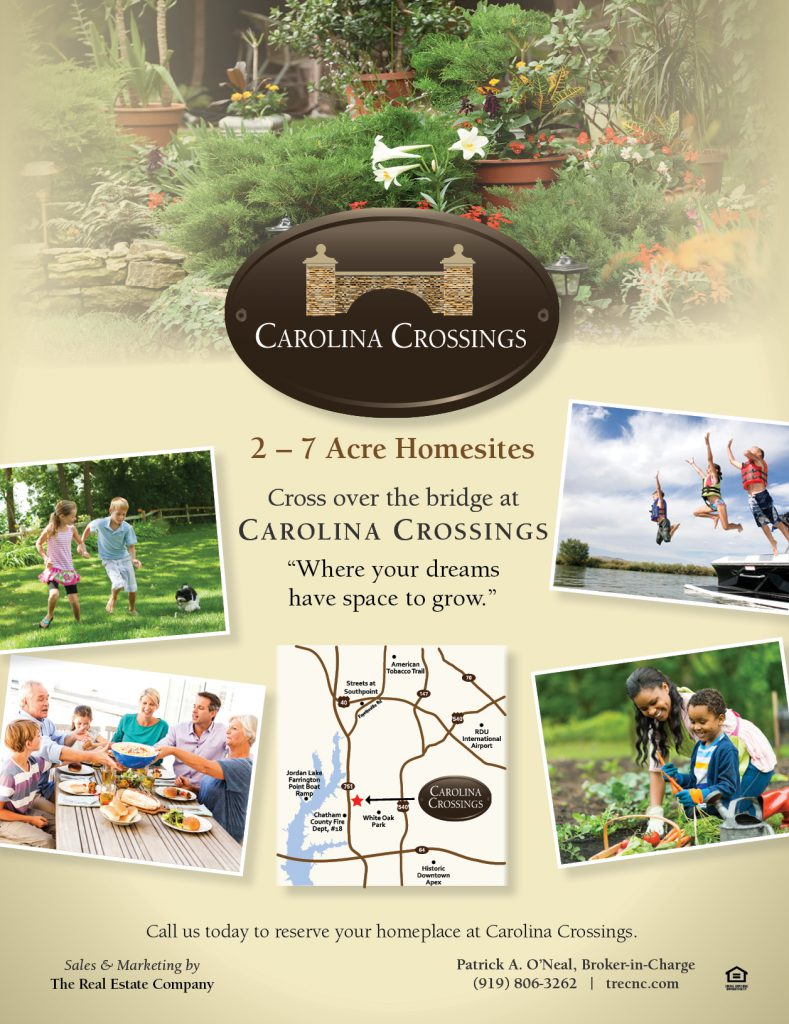 Carolina Crossings Ad
