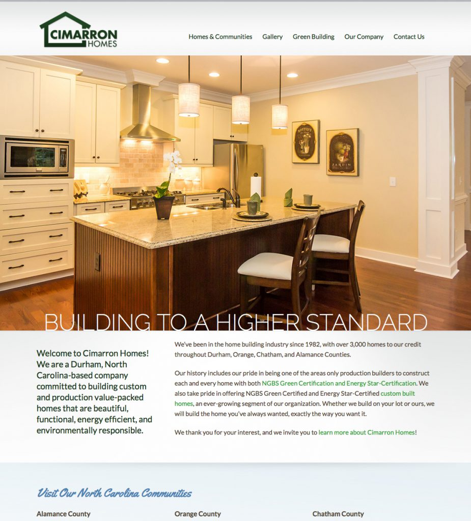 Cimarron Homes Home Page