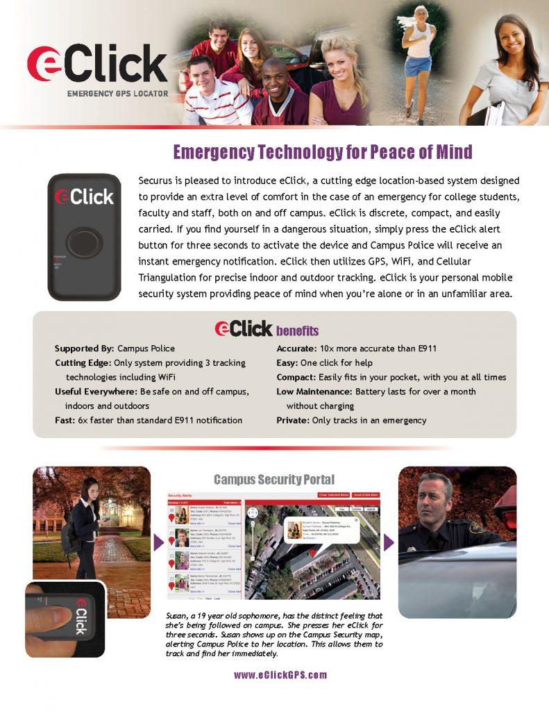 eClick Flier Front