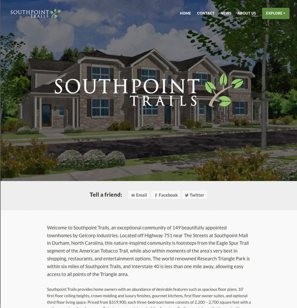 Southpoint Trails Home Page