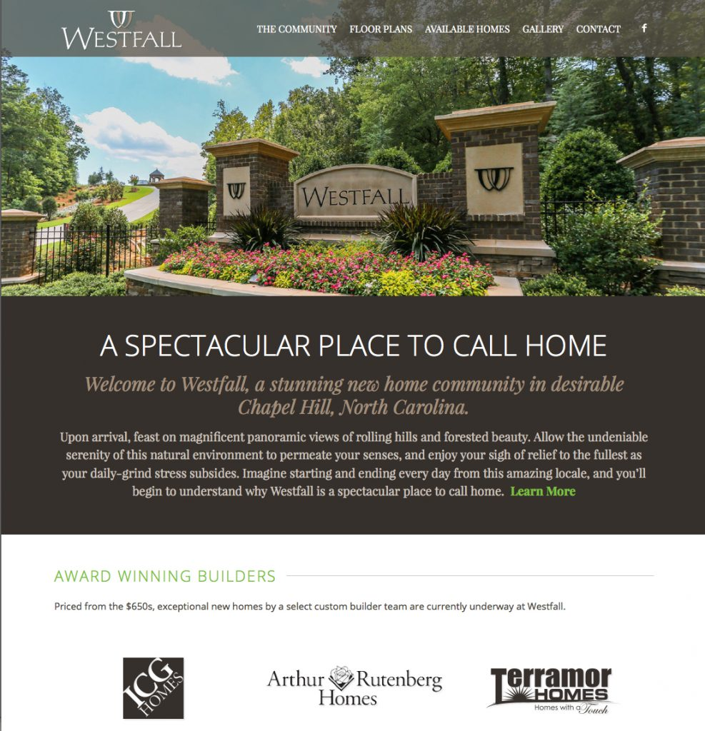 Westfall Home Page