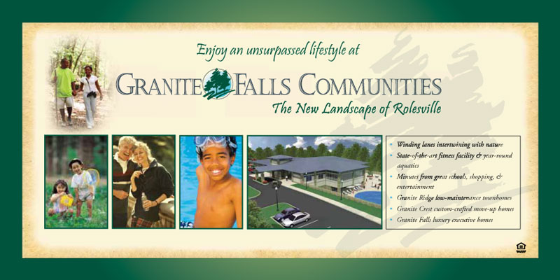 Granite Falls Communities Sales Center Display