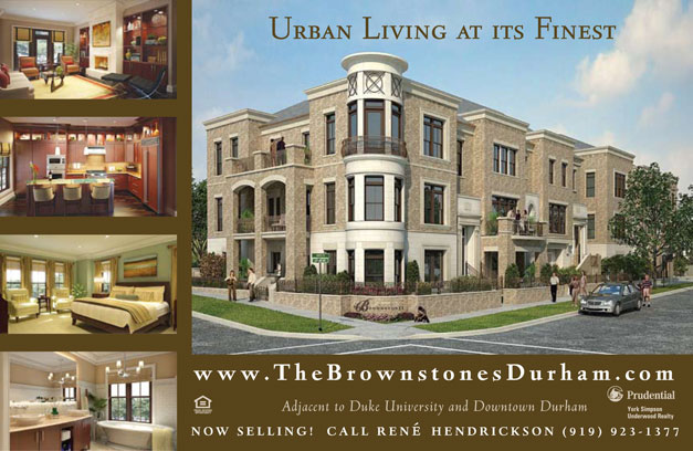 The Brownstones Postcard Front