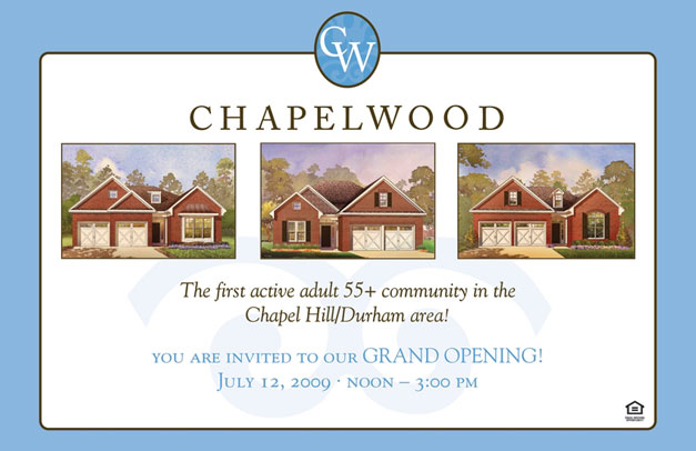 Chapelwood Postcard Front