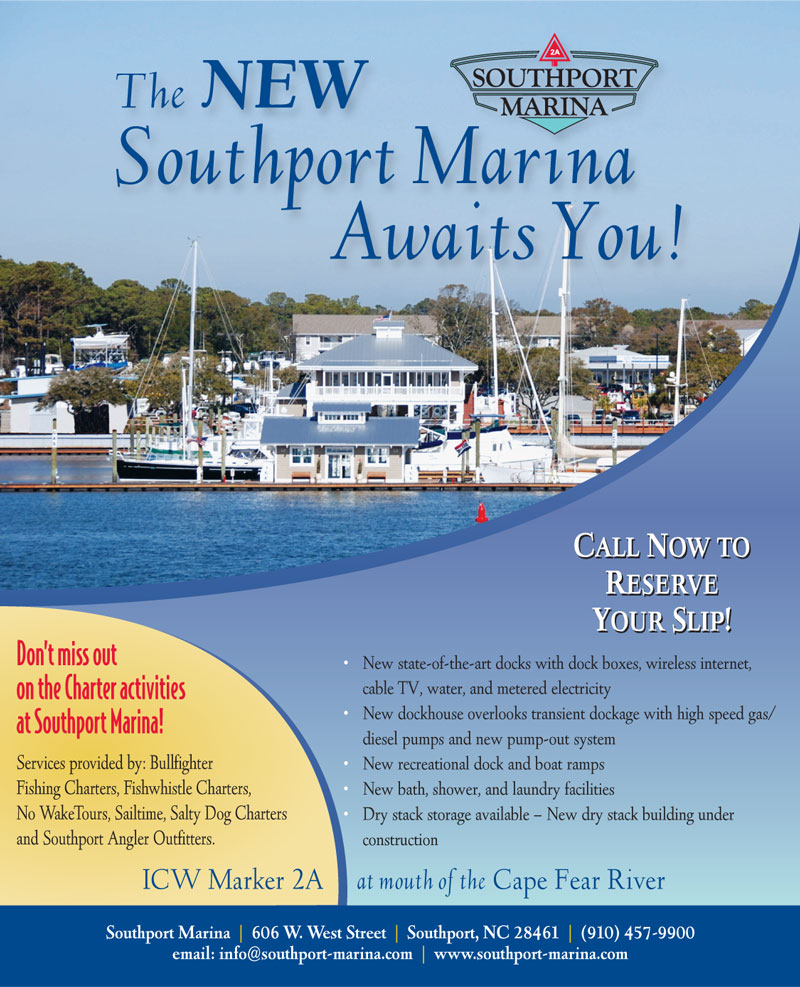 Southport Marina Coastal Mariner Ad