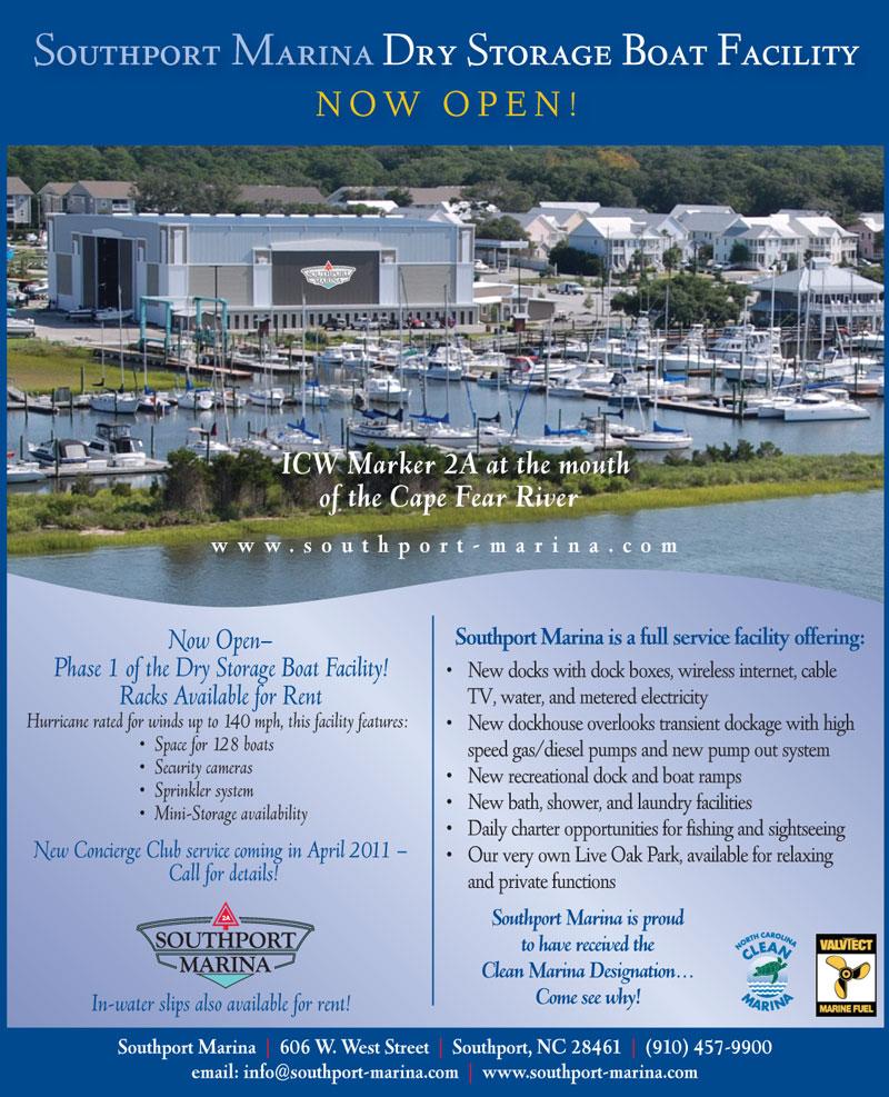 Southport Marina Coastal Mariner Ad