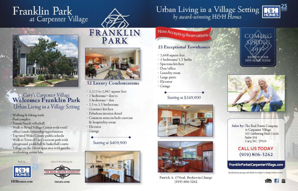 Franklin Park Ad