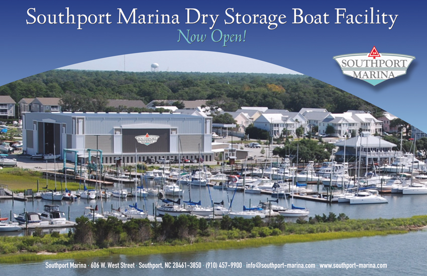 Southport Marina Postcard Front