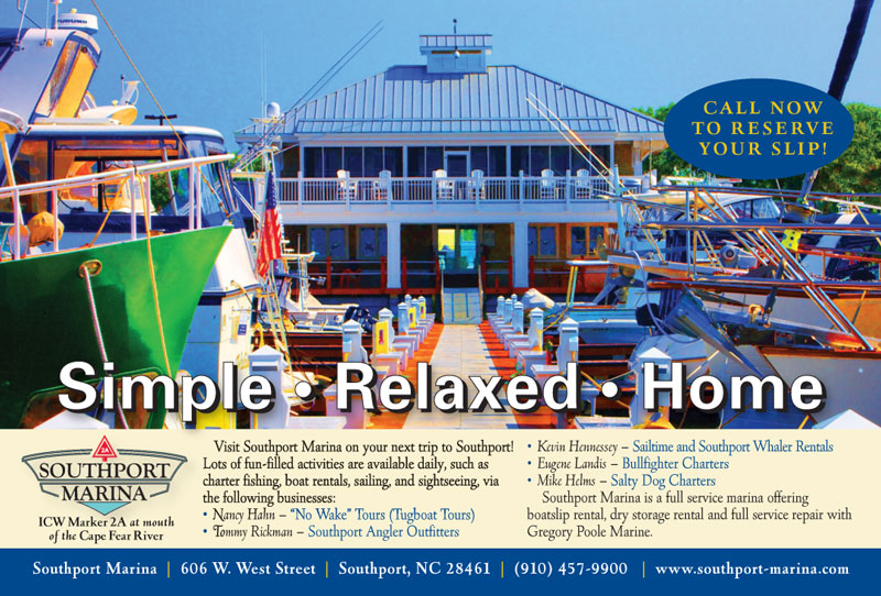 Southport Marina Chamber Ad