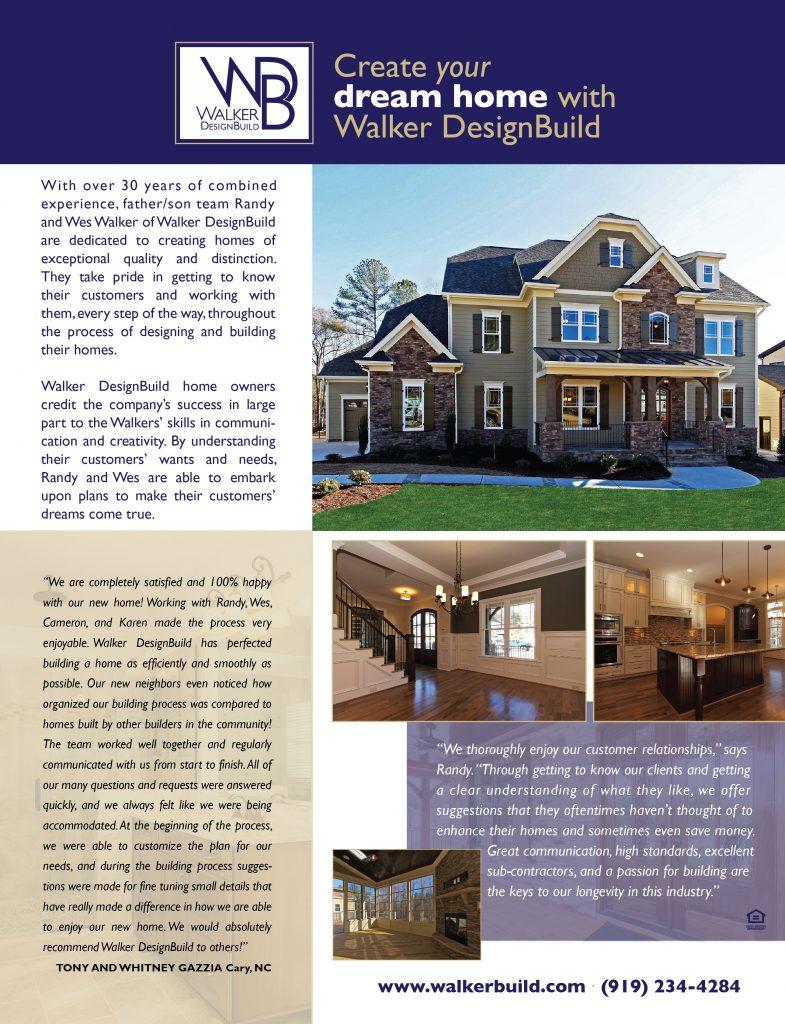 Walker DesignBuild Flier