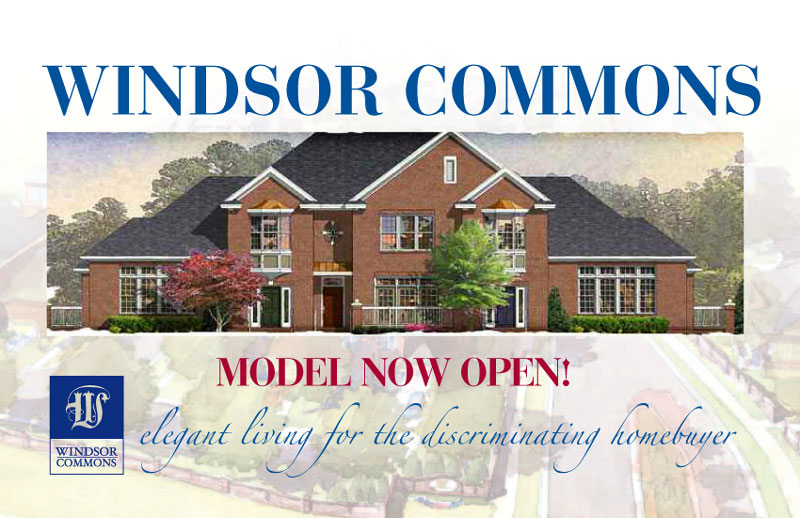 Windsor Commons Postcard Front
