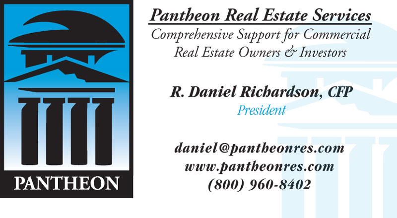 Pantheon Real Estate Services Business Card