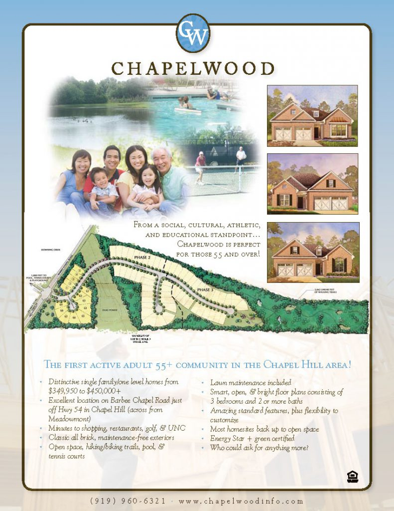 Chapelwood Tri-fold Inside Panel