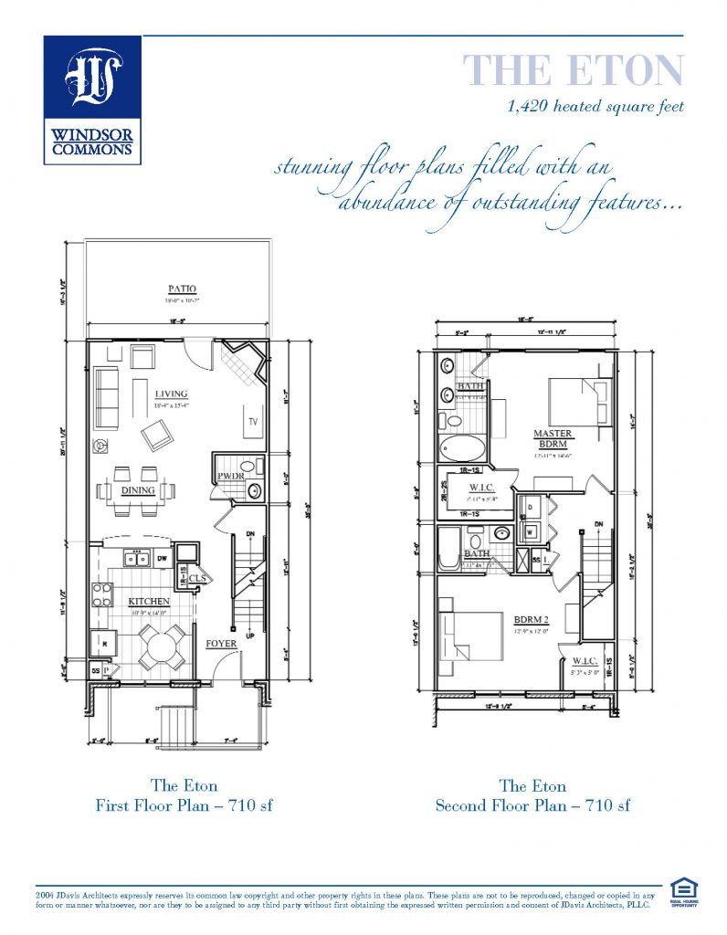 Windsor Commons Eton Floor Plan