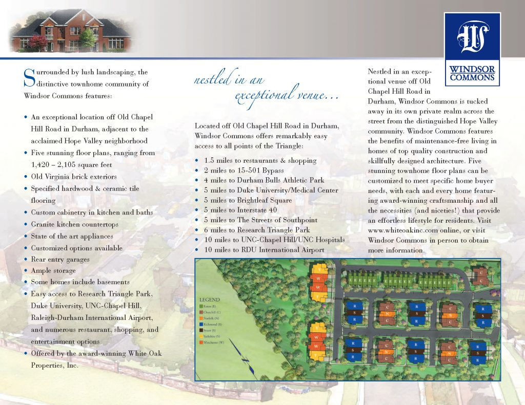 Windsor Commons Tri-fold Center Panel