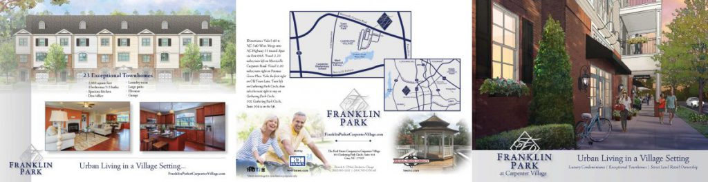 Franklin Park Tri-fold Brochure, back