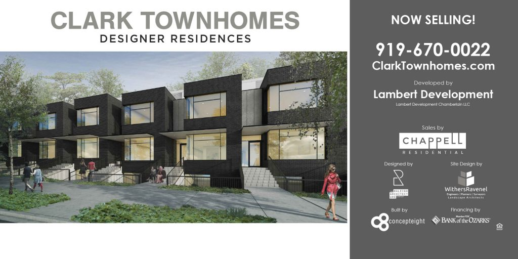Clark Townhomes Construction Banner