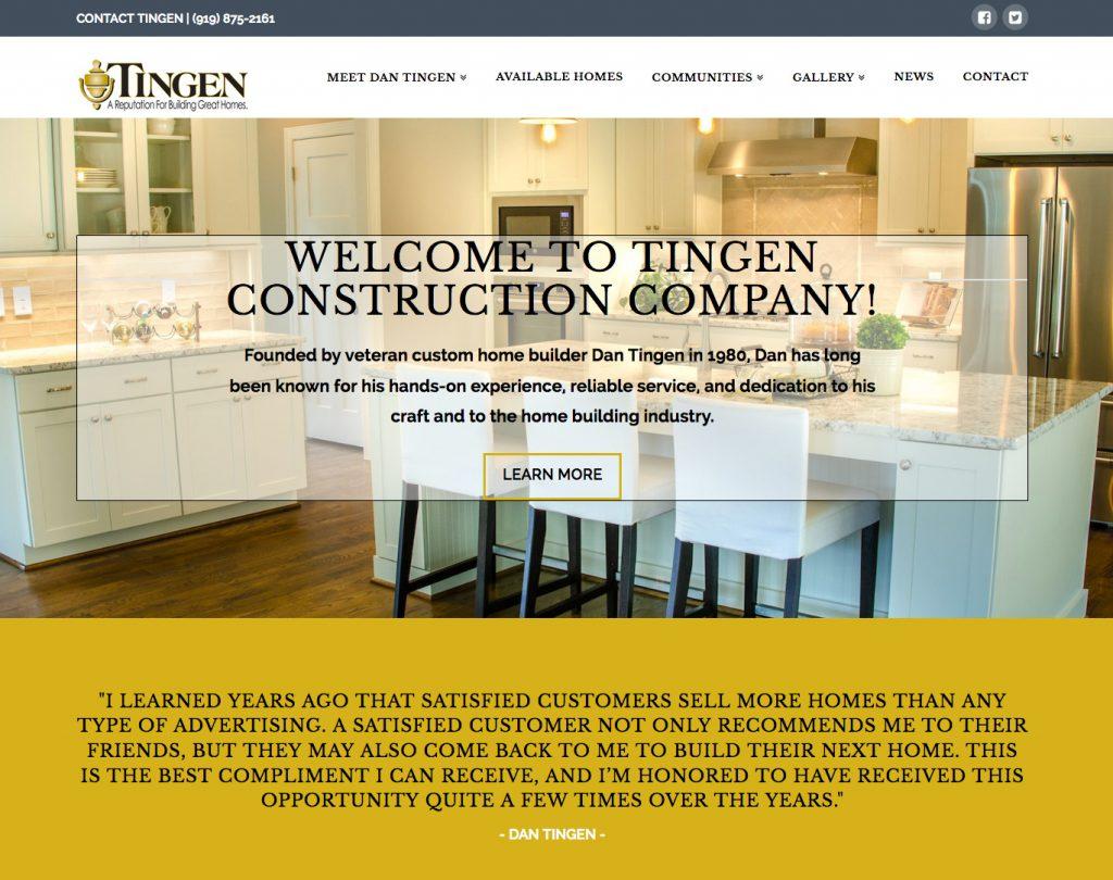Tingen Construction Company