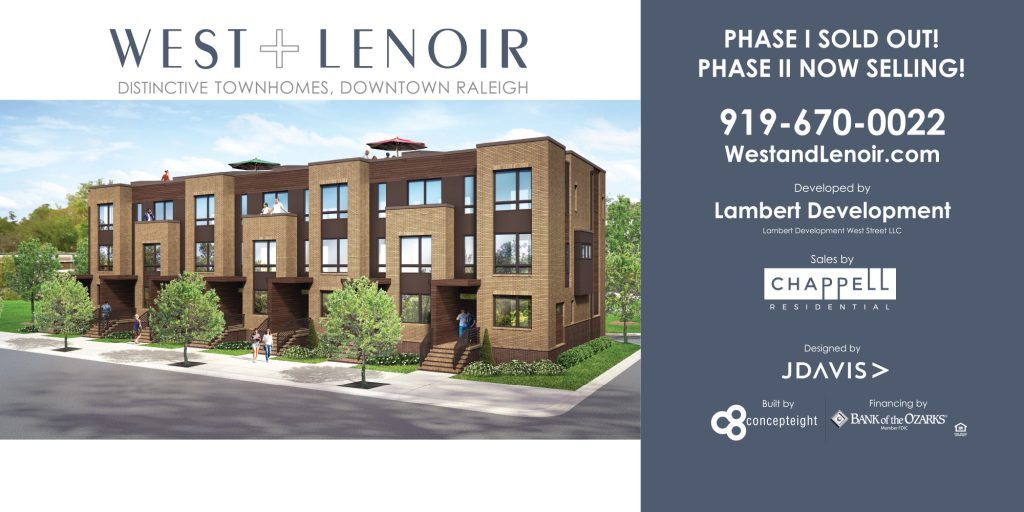 West + Lenoir Construction Banner