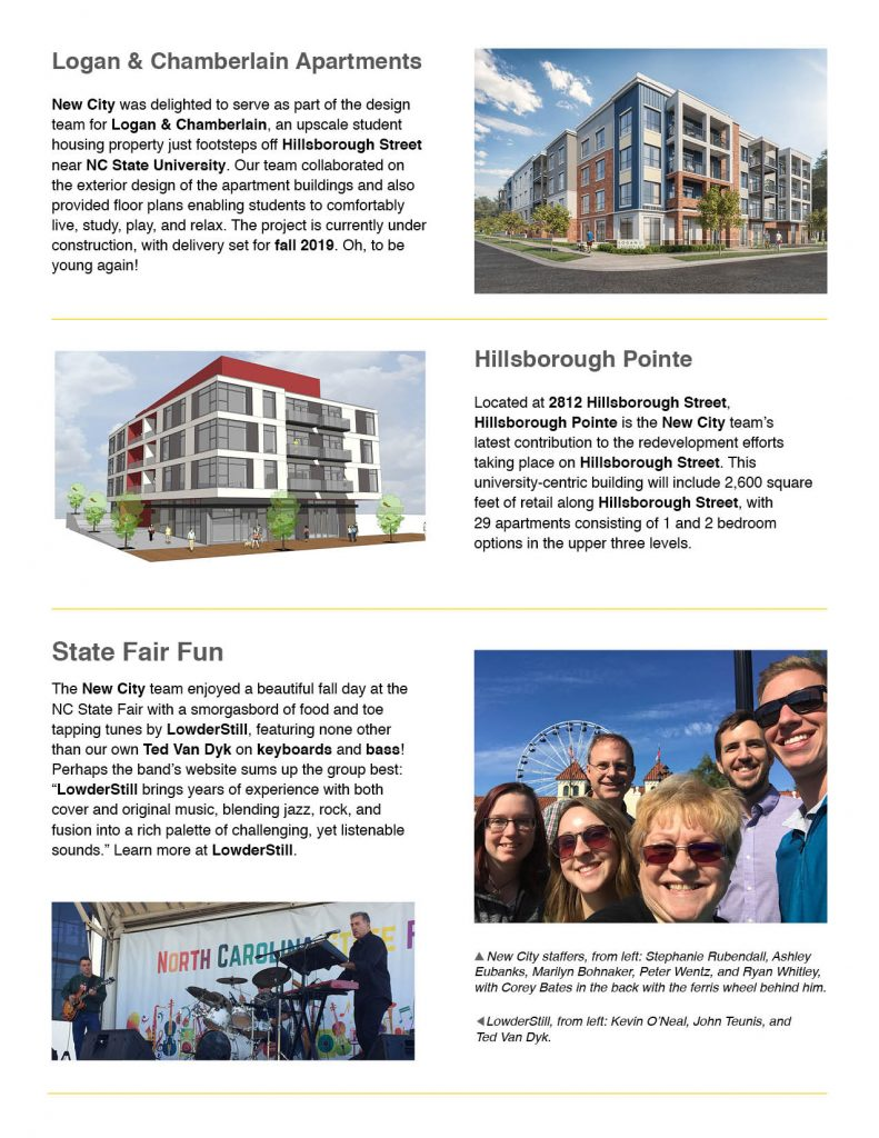 New City Design Group Newsletter (page 2)