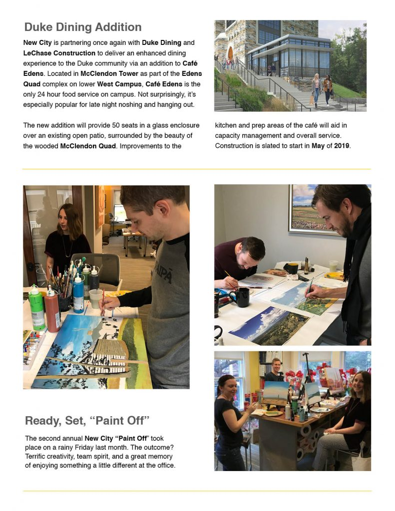 New City Design Group Newsletter (page 4)