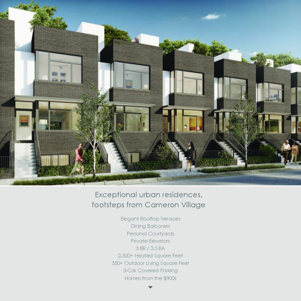 Clark Townhomes Brochure, page 2